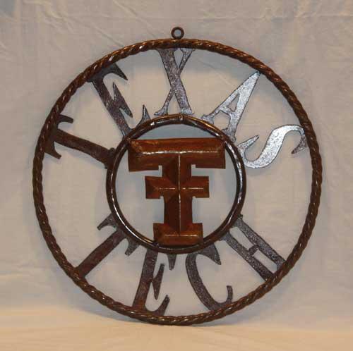 Texas Tech Metal Star Ring-