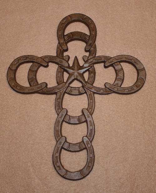 Horseshoe Star Cross-