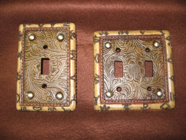 Western Light Switch Plates-Branded-Light Switch Plates