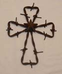 Barbed Wire Cross-