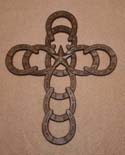 Horseshoe Star Cross-
