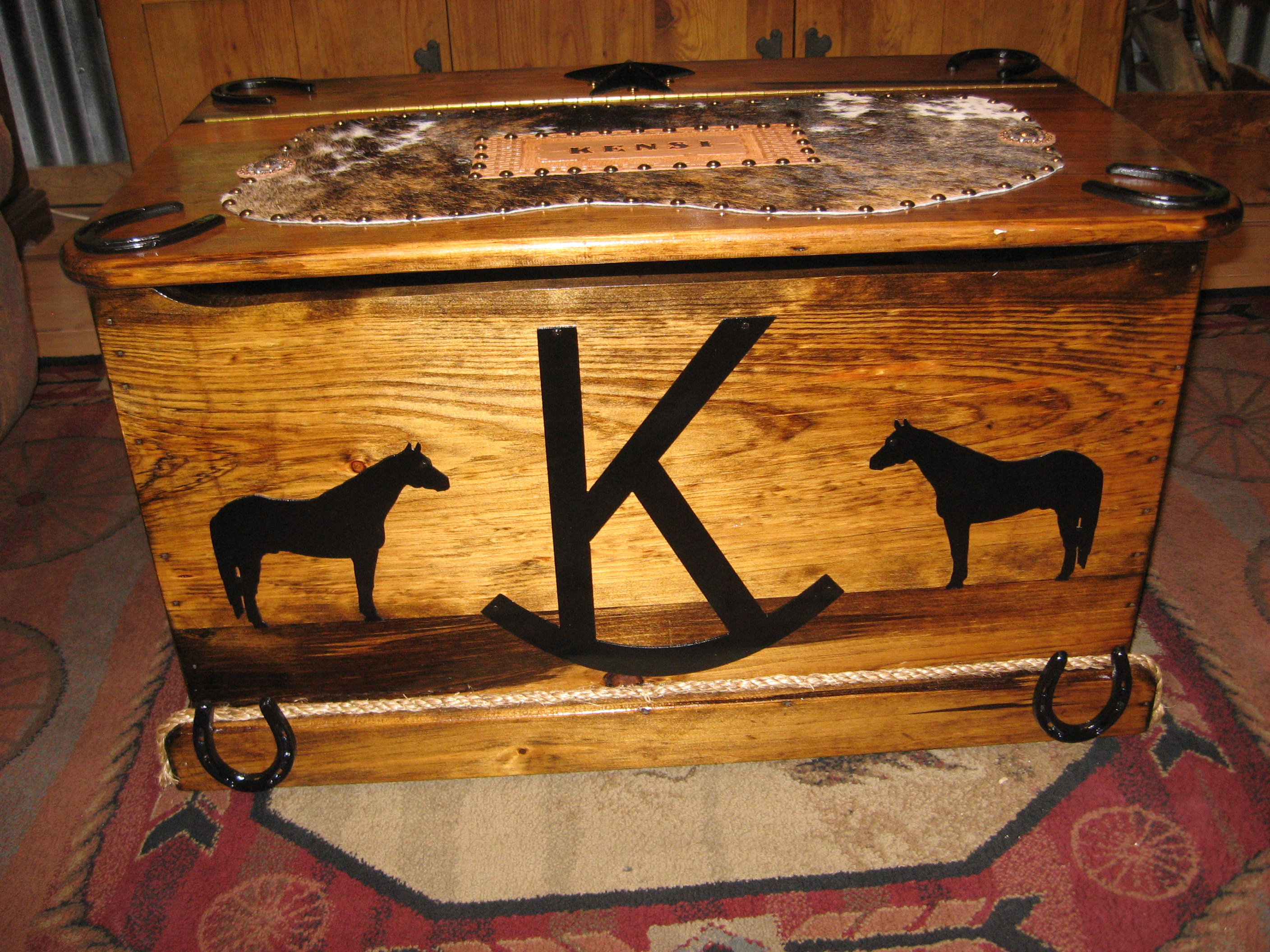 Customized Wooden Toy Chests-